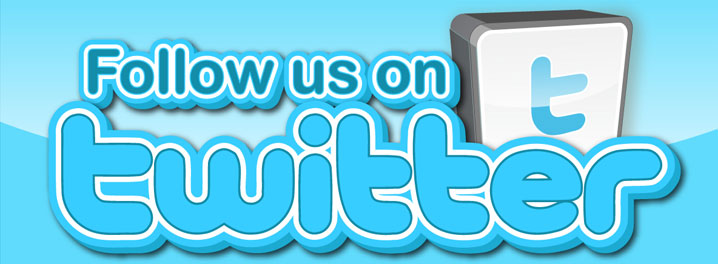 Follow Us On Twitter !